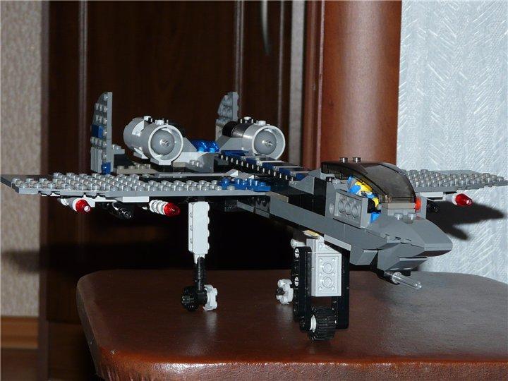 Как Собрать Самолет Из Лего Инструкция