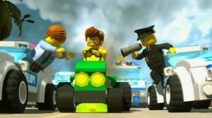 Погоня за преступником и Лего Сити