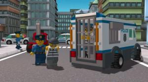 Полицейская машина из Лего Сити