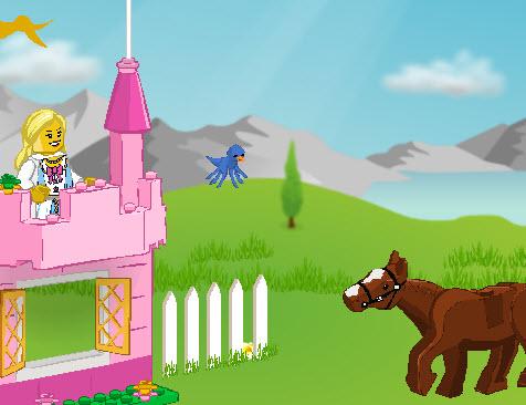 Принцесса и лошадь