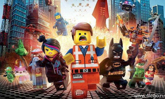 Герои лего-мультиков