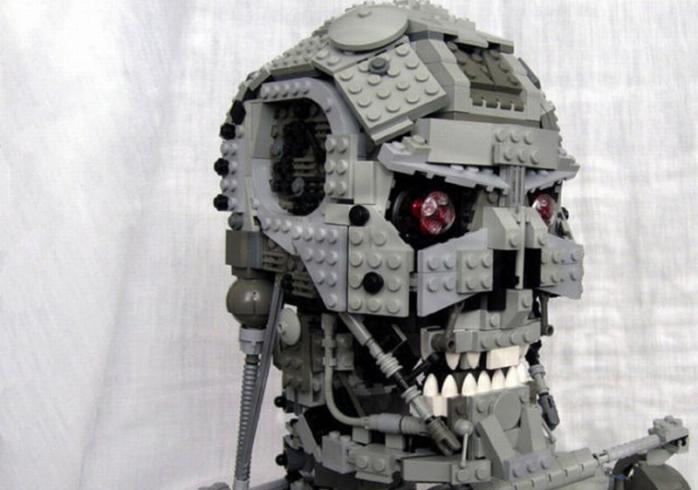 Как сделать маленького робота из лего фото 323