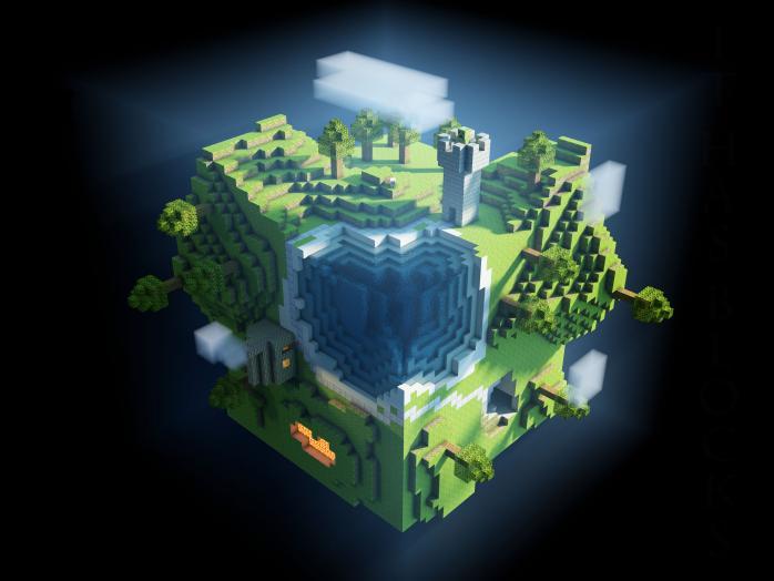 Планета куб