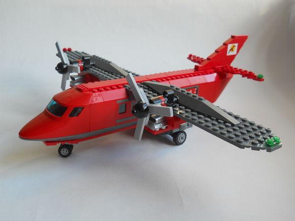 Инструкция как сделать самолет из лего