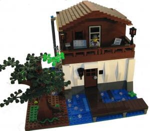 дом лего