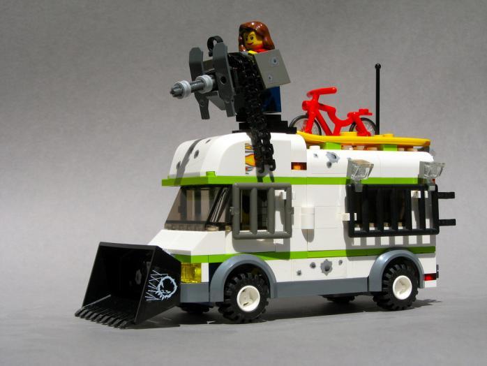 Укрепленный грузовик