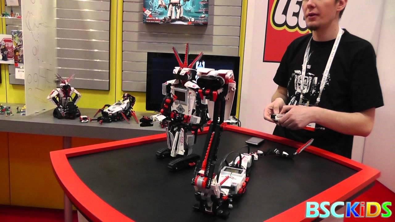 Уникальный лего-робот