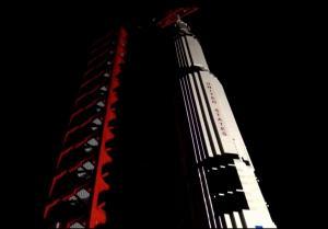Сатурн 5 во мраке
