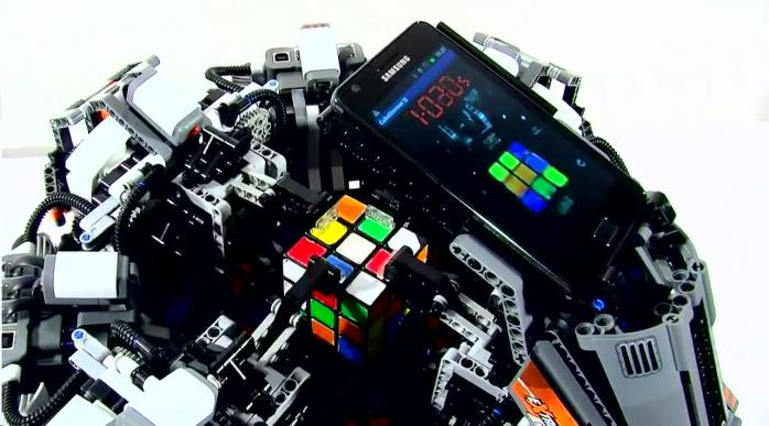 Умный лего — робот