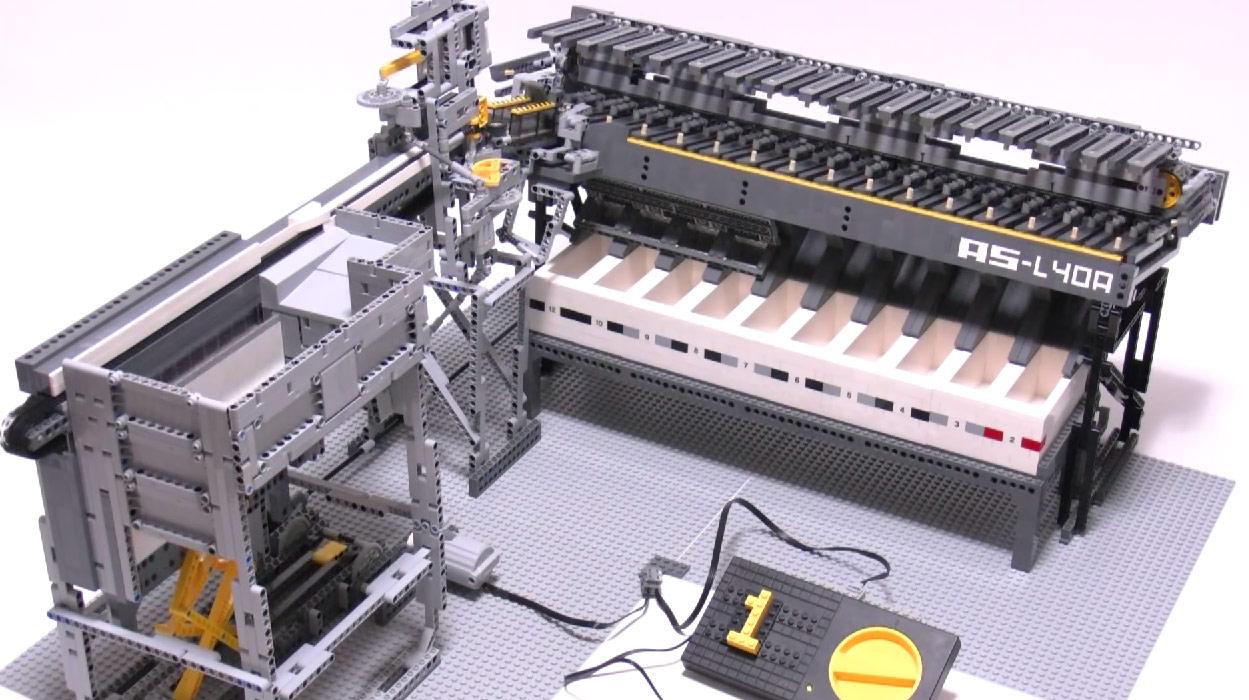 Японская сортировочная машина