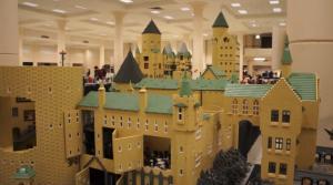 комплекс зданий школы магии Хогвардс