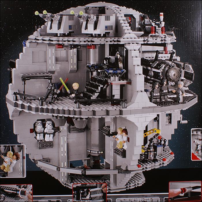 Фотообзор набора star wars 10188 звезда смерти lego® обзоры.