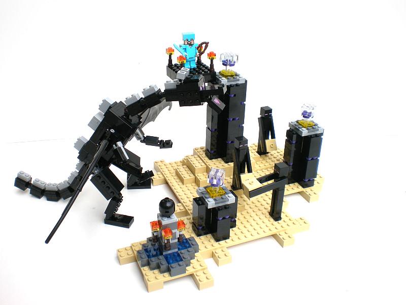 Инструкция лего майнкрафт