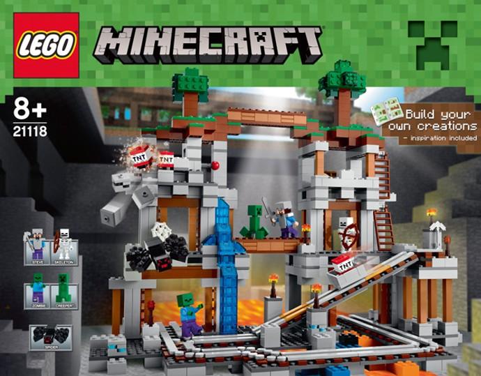 Лего 21118