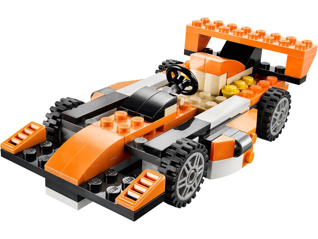 Инструкция лего гоночная машина