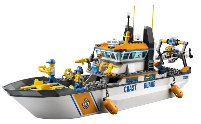 Лего Спасательный Корабль Инструкция - фото 4