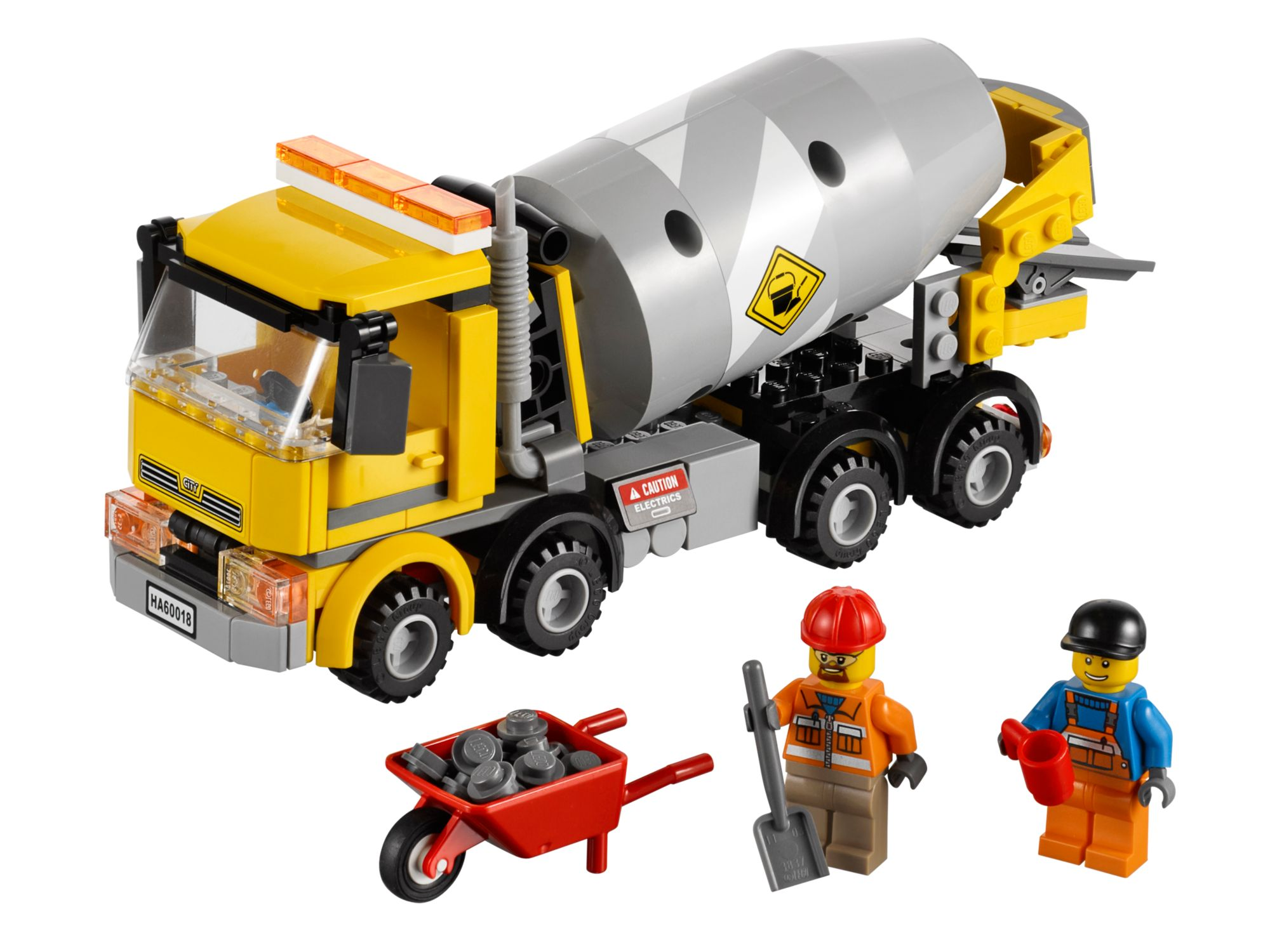 Лего Сити 60018 Бетономешалка инструкция, обзор, картинки и видео ...
