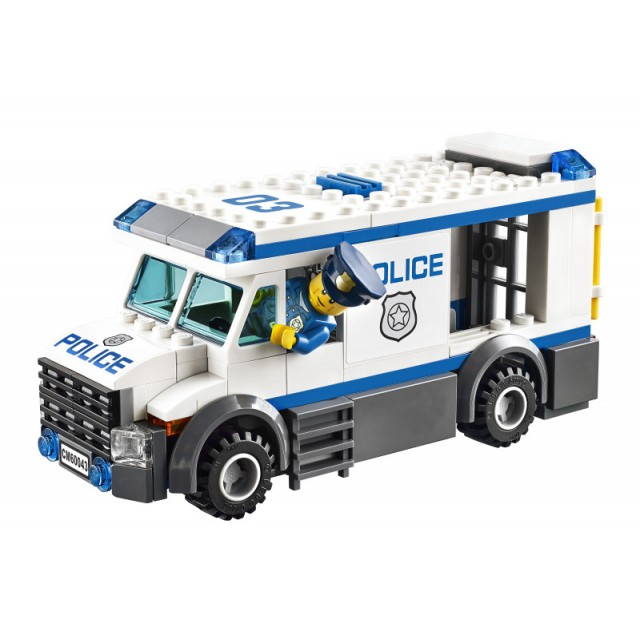 Лего Сити 60043 Автомобиль Заключённых инструкция, обзор ... Лего Сити Инструкции