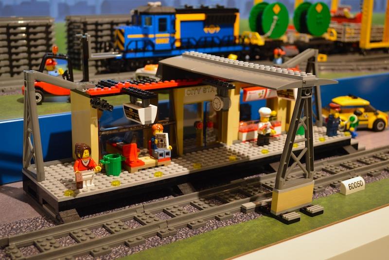 Лего Сити 60050 Железнодорожная станция инструкция, обзор ... Лего Сити Инструкции