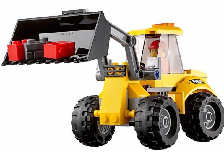 Лего Сити 60076 Снос старого здания инструкция, обзор ... Лего Сити Инструкции