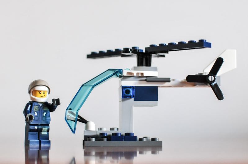 Лего Сити 30222 Полицейский Вертолет инструкция, обзор ... Лего Сити Инструкции