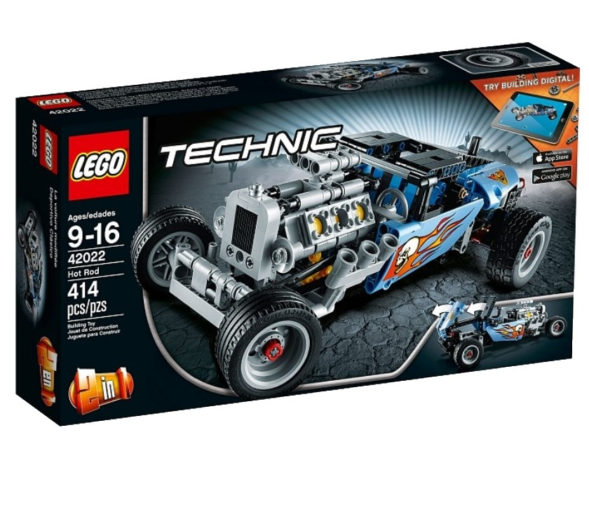 Лего техник все модели 42022 инструкция