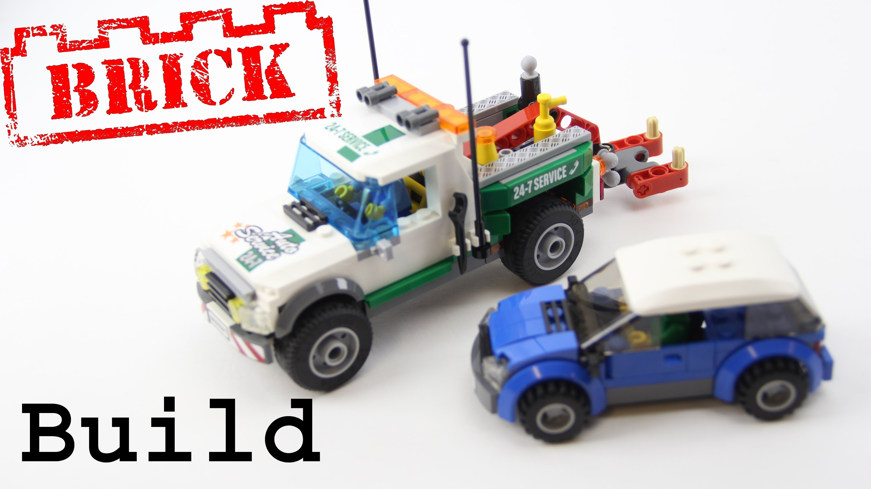 инструкция к сборке лего сити эвакуатор
