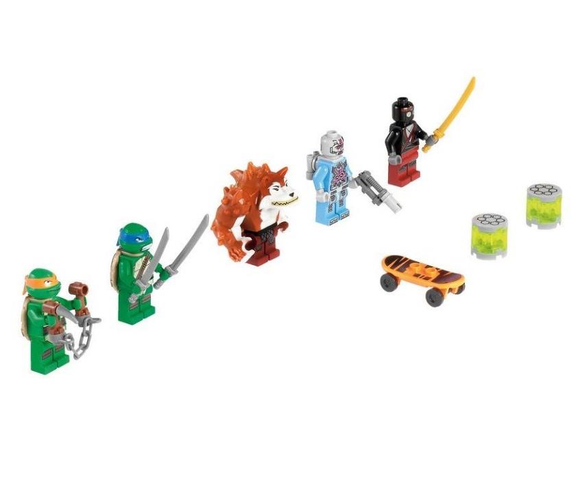 Лего Че�епа�ки ниндзя 79104 П�е�ледование на г��зовике