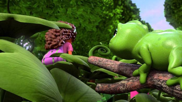 Подружки из Хартлейк Сити 6 серия — Друзья джунглей