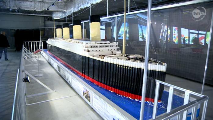 Крупнейшая в мире реконструкция «Титаника» из лего