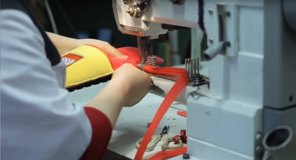 изготовление тапочек