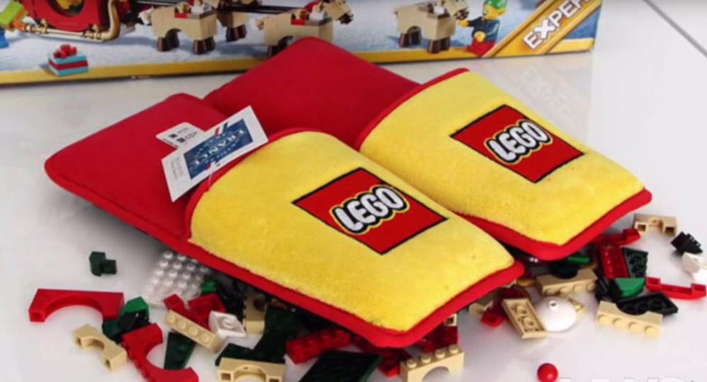 Лего тапки