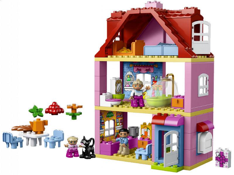 Дом Из Лего Дупло Инструкция