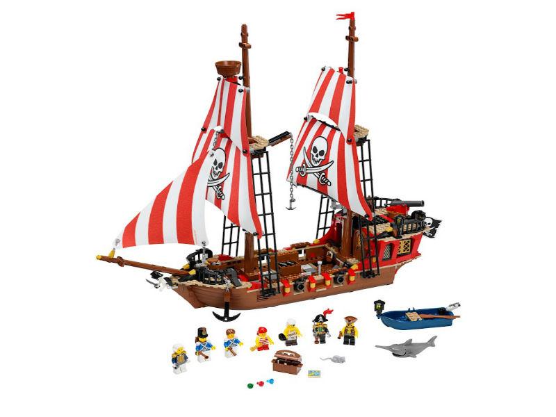 инструкция по сборке лего корабля