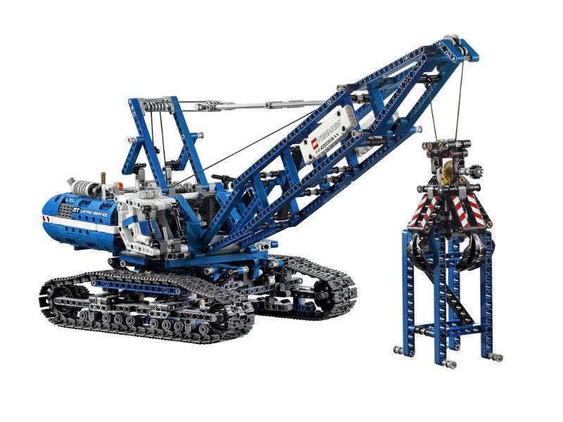 Лего техник 42042 инструкция