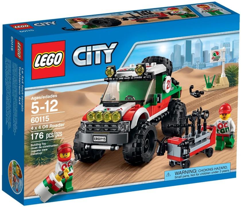Лего инструкция 60115