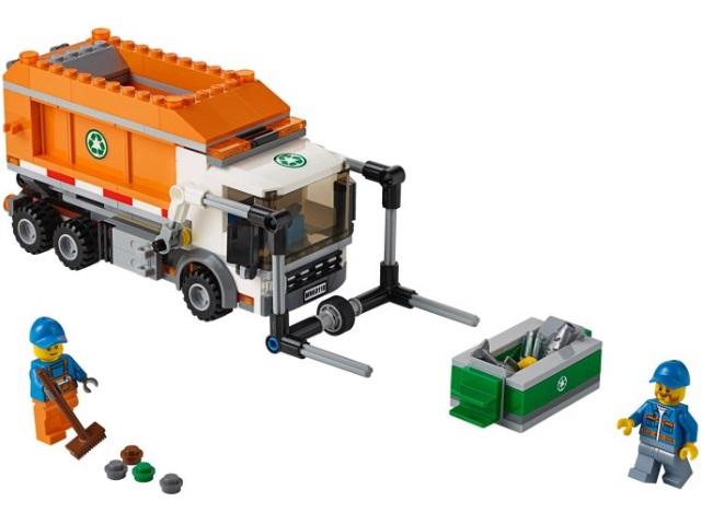 инструкция лего 60118 мусоровоз
