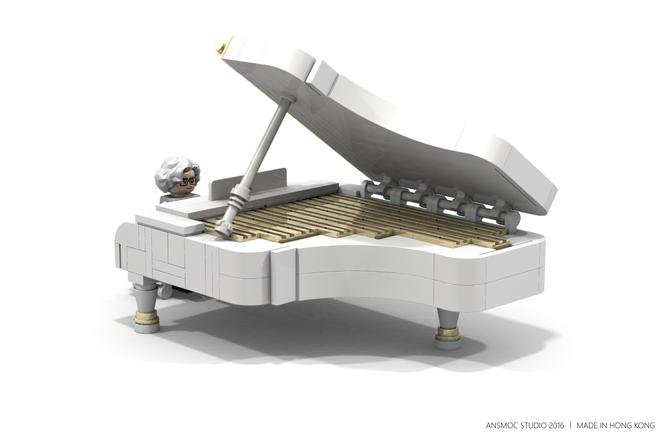 Рояль из Лего