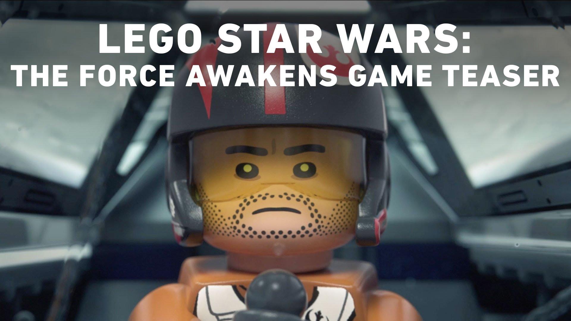 Звёздные Войны — пробуждение силы: Лего пародия