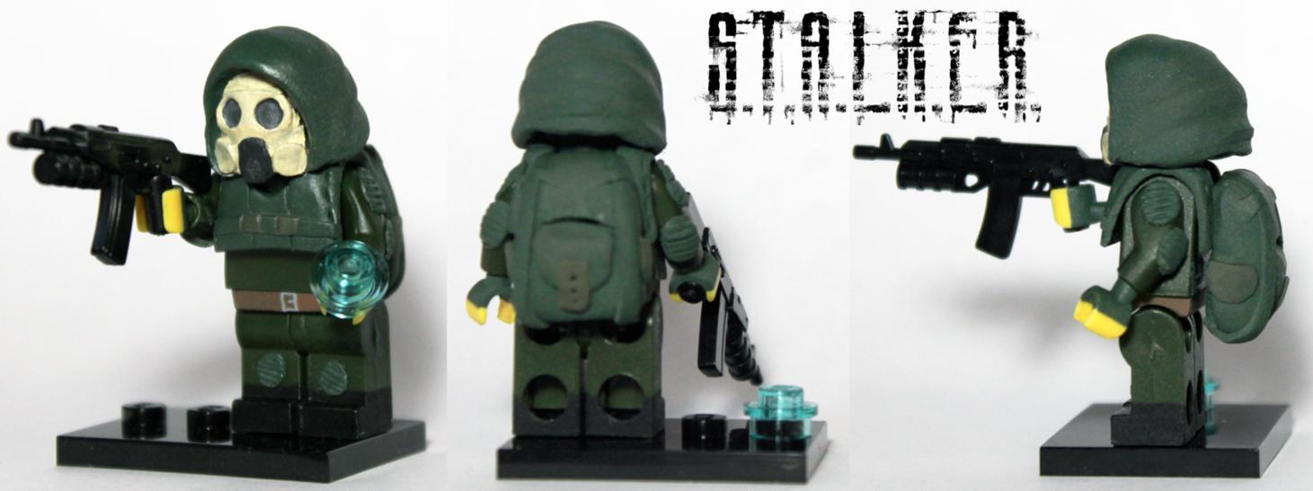 Набор лего сталкер