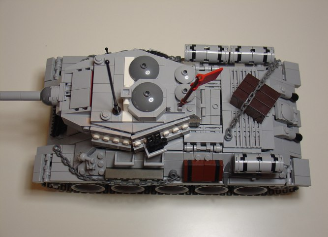 Лего т-34-85 как сделать