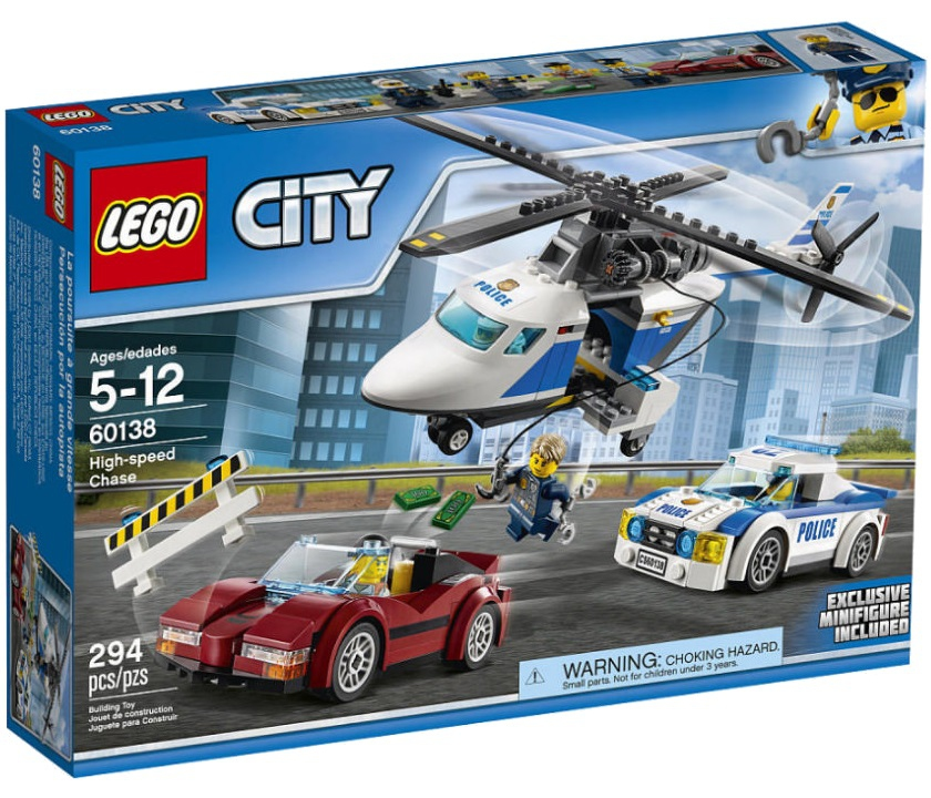 Лего Сити 60138 Стремительная погоня инструкция, обзор ... Лего Сити Инструкции