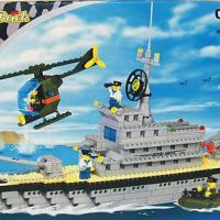 """Конструктор """"Корабль ВМФ"""" 250 деталей Brick-0280"""