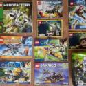 5 наборов Лего Чима, 1 Лего Ниндзяго, 2 Лего Хиро Фактори