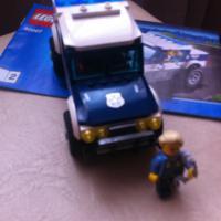 Лего Сити Погоня за преступниками 60007(3 инструкции )