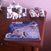 Лего 8089 Пещера Вампы на планетн Хот