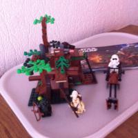 Лего STAP WARS 7956 Атака Эвоков