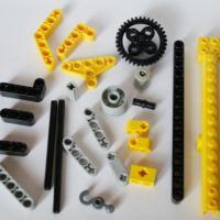 Lego Technic 8270 Подъемный Кран, 2007. Детали