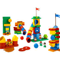 Новый  комплект Lego Duplo «Набор с трубками» 9076