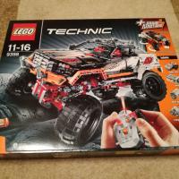 Lego technic 4x4 9398 внедорожник